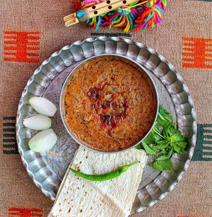 طرز تهیه آش بوشهری
