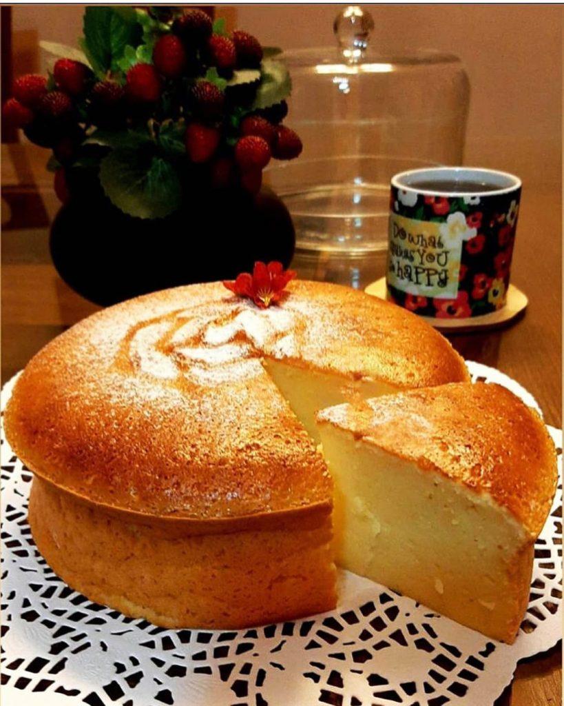 طرز تهیه کیک پنبه ای