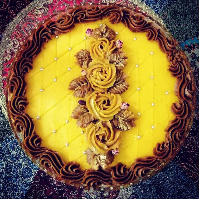 طرز تهیه و دستور پخت حلوای زعفرانی