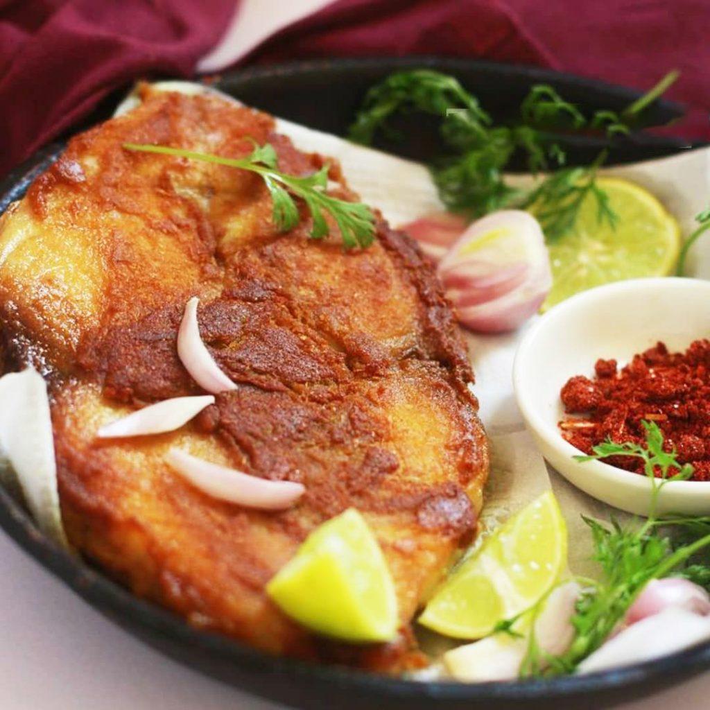 طرز تهیه ماهی سوخاری