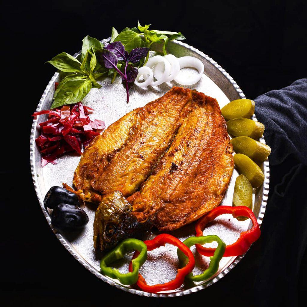 طرز تهیه ماهی سوخاری قزل الا