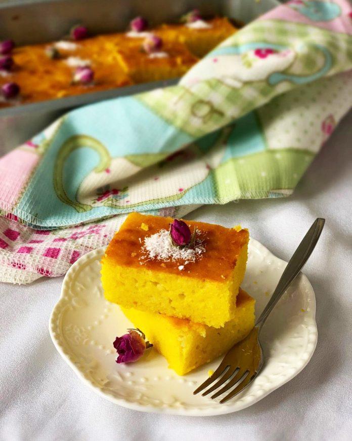 طرز تهیه کیک شربتی