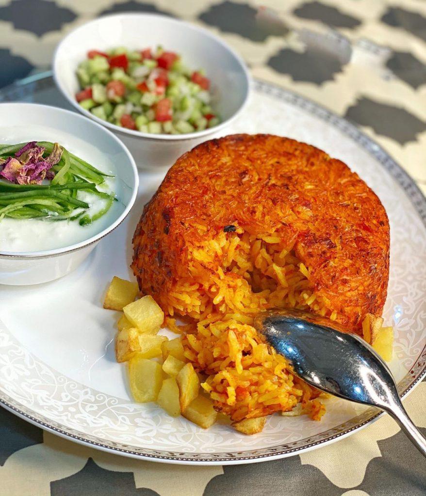 طرز تهیه استانبولی با مرغ