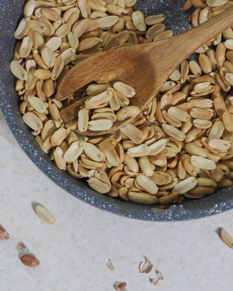 کره بادام زمینی خانگی