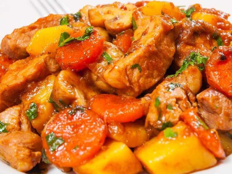 طرز تهیه خوراک ران مرغ