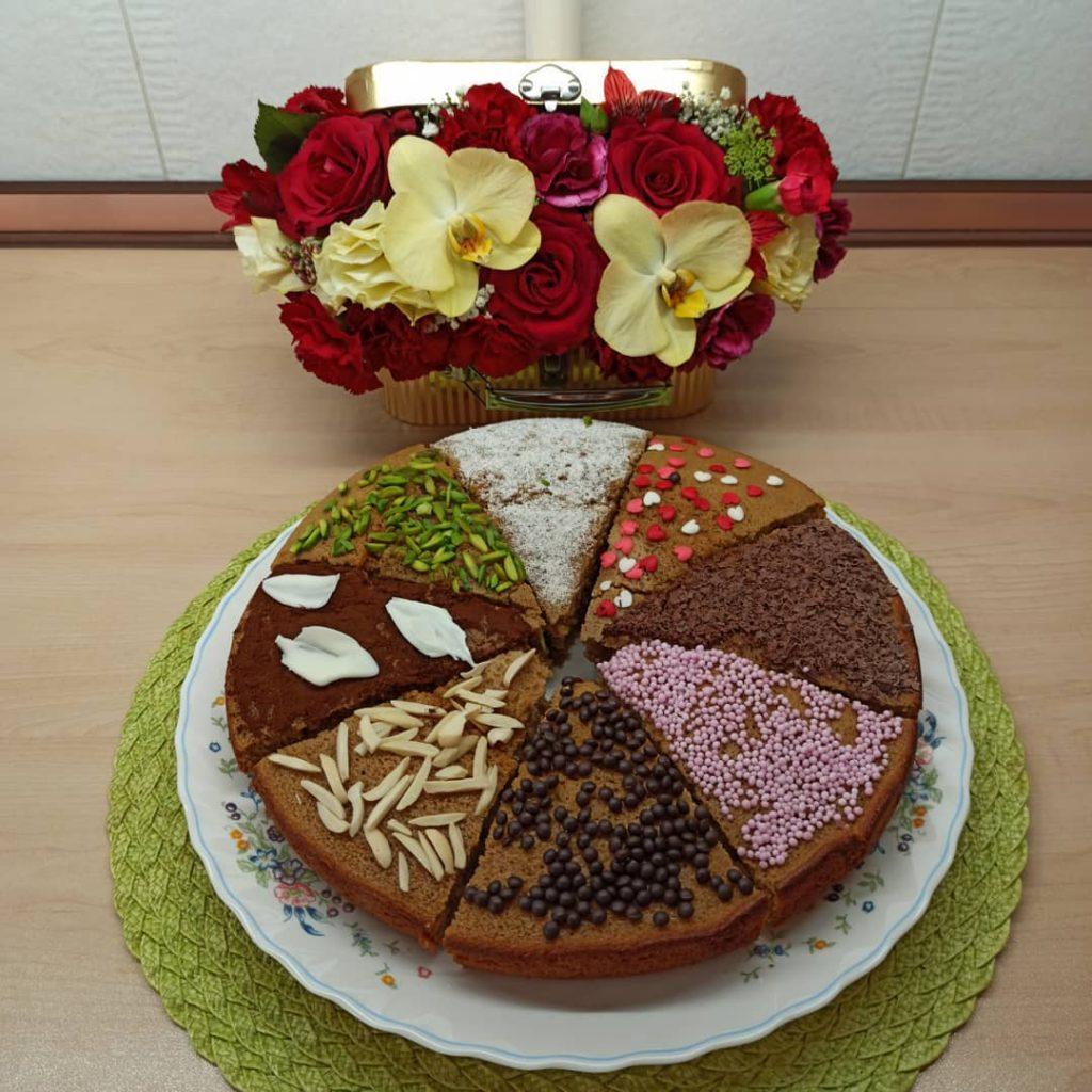 طرز تهیه و دستور پخت کیک کاپوچینو