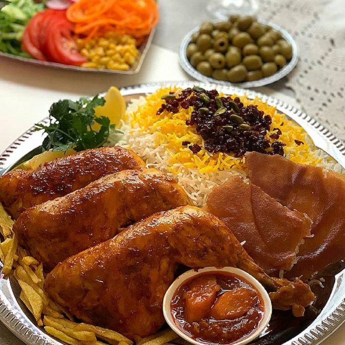طرز تهیه و دستور پخت مرغ با سس