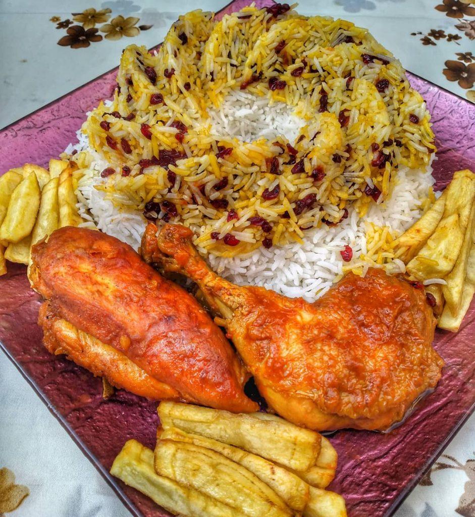 دستور پخت مرغ با سس مخصوص