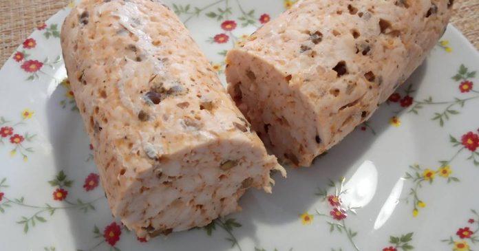 طرز تهیه و دستور پخت ژامبون مرغ و قارچ خانگی