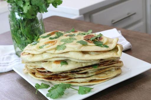 نان هندی ماهی تابه ای