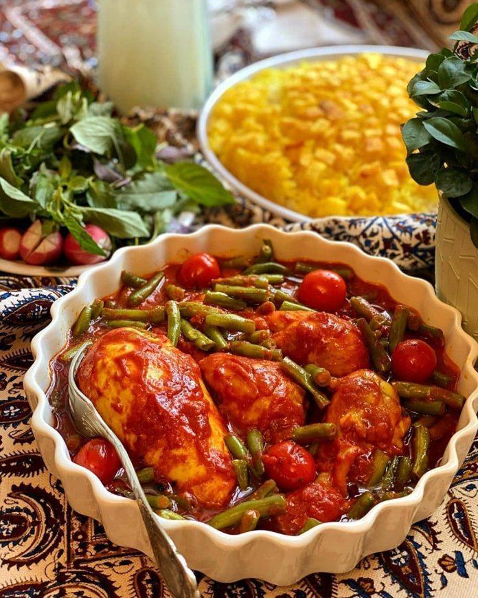 طرز تهیه خورشت لوبیا