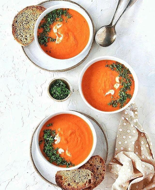 طرز تهیه سوپ ریحان