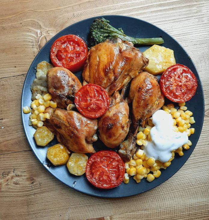 طرز تهیه مرغ فوری