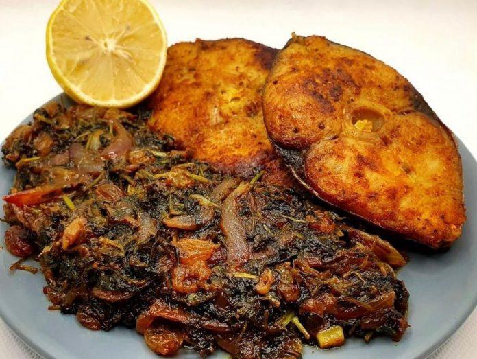 طرز تهیه حشو ماهی