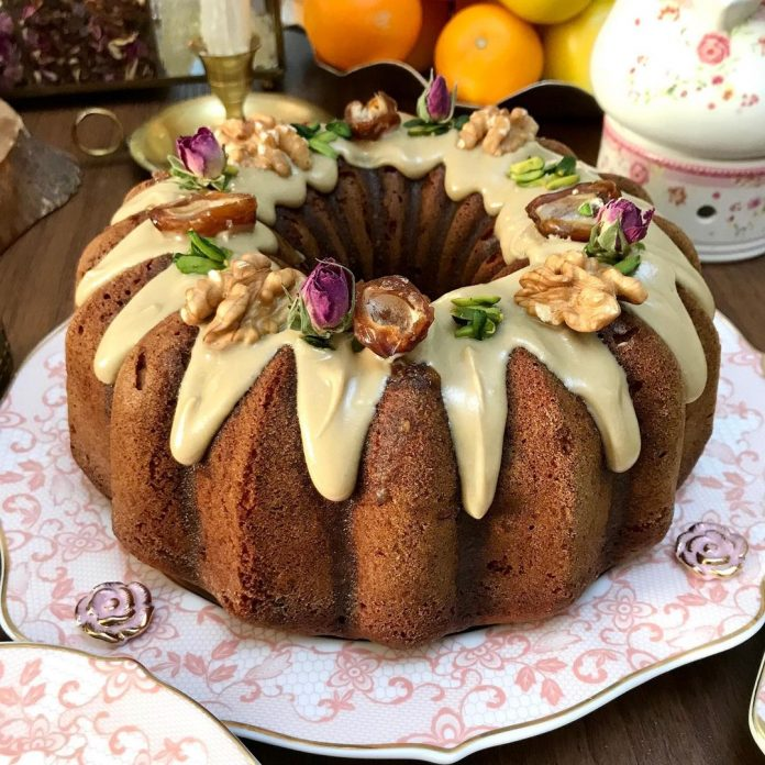 طرز تهیه کیک خرما