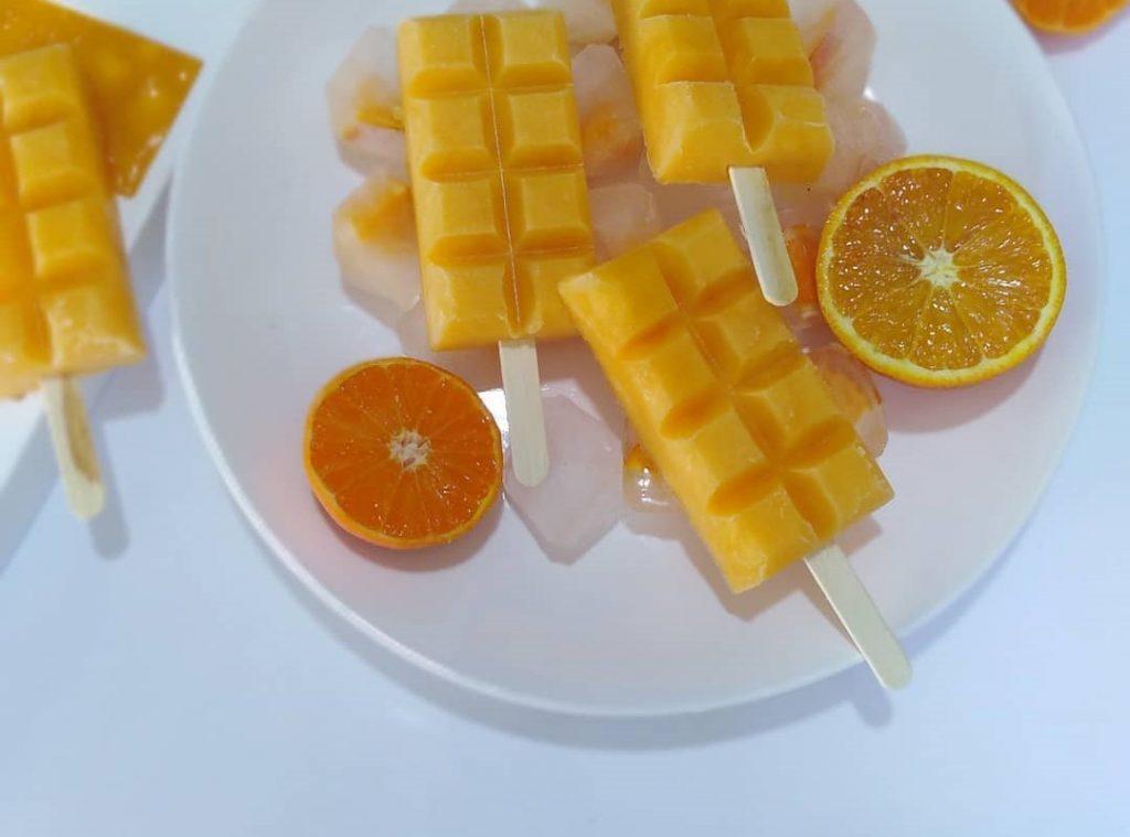 طرز تهیه بستنی پرتقالی