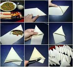طرز تهیه سمبوسه پیتزایی