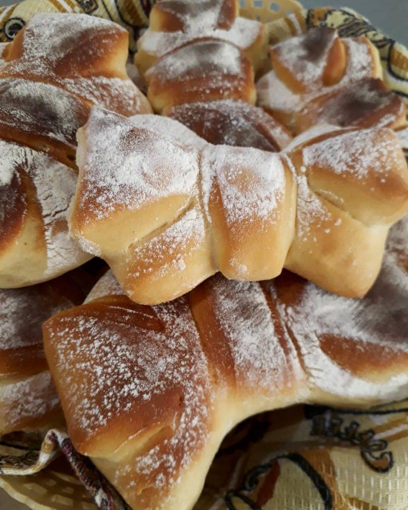 طرز تهیه نان پاپیونی
