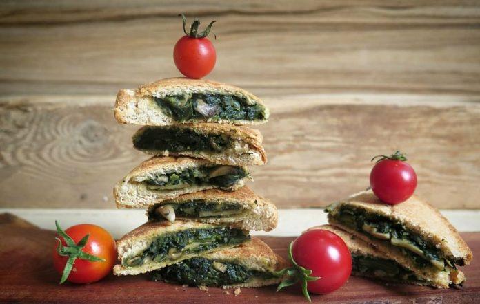 ساندویچ اسفناج
